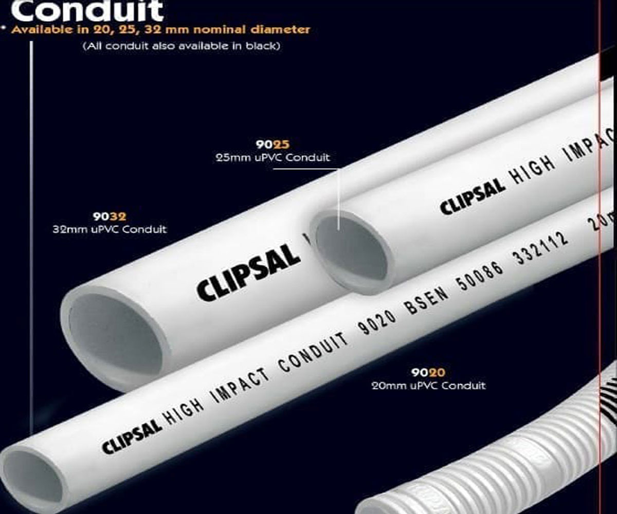 Pipa PVC Conduit - Clipsal