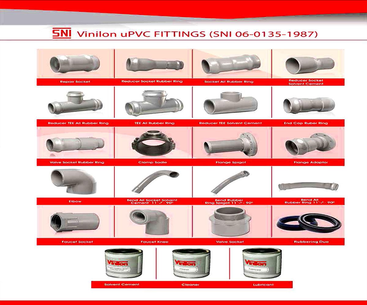 Fitting uPVC SNI Standard - Vinilon