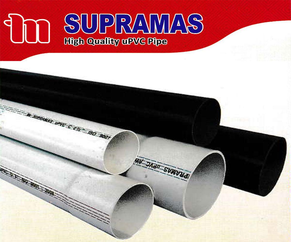 Pipa PVC Standart JIS Supramas