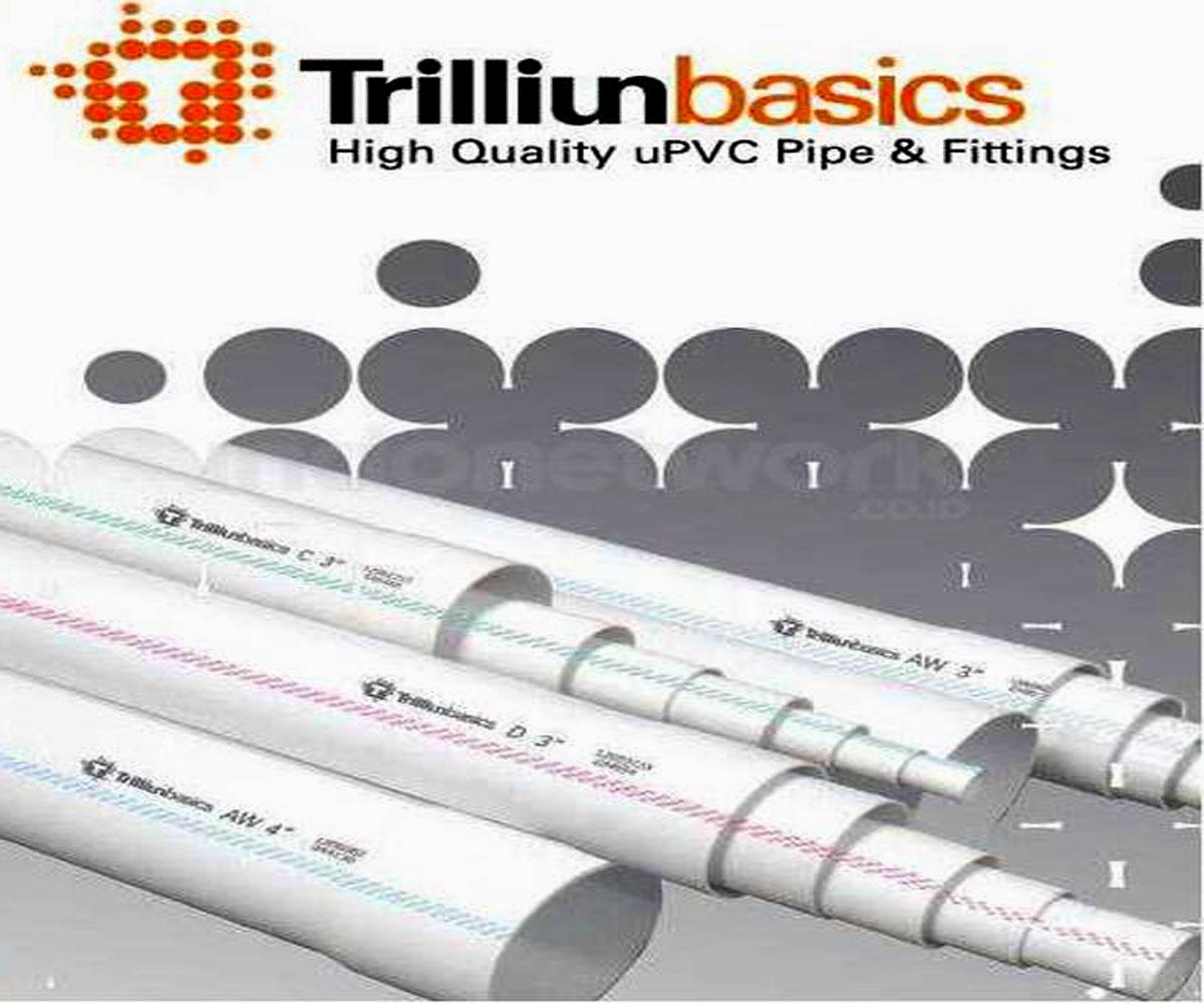 Pipa & Fitting PVC Standart JIS Trilliun basics