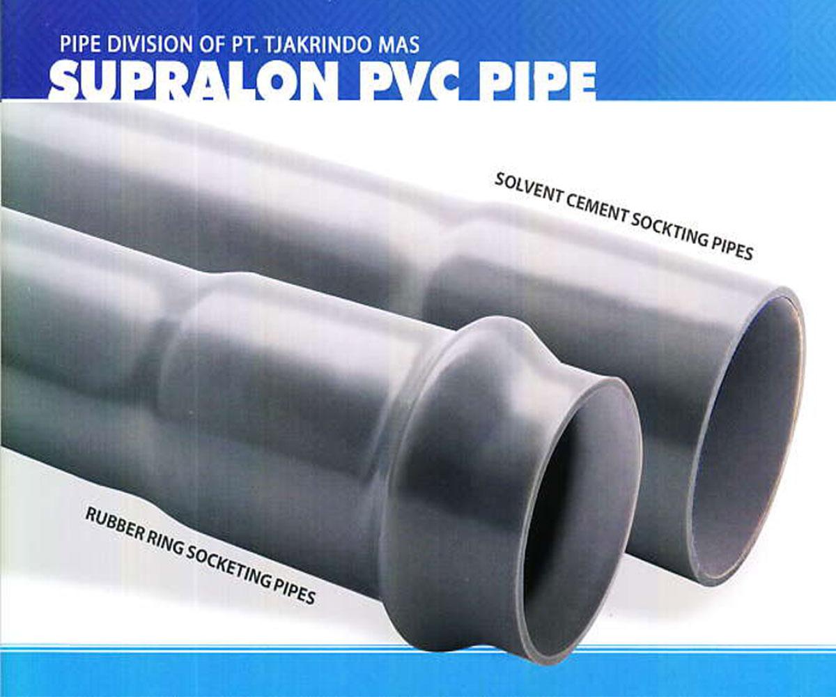 Pipa PVC Standart JIS & SNI Supralon