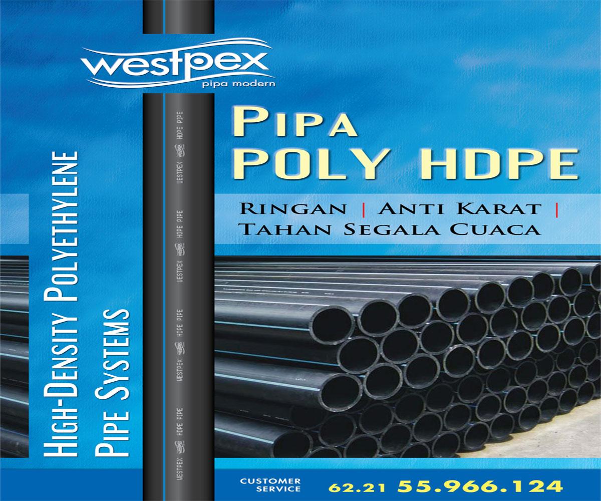 Pipa & Fitting HDPE / PE WESTPEX