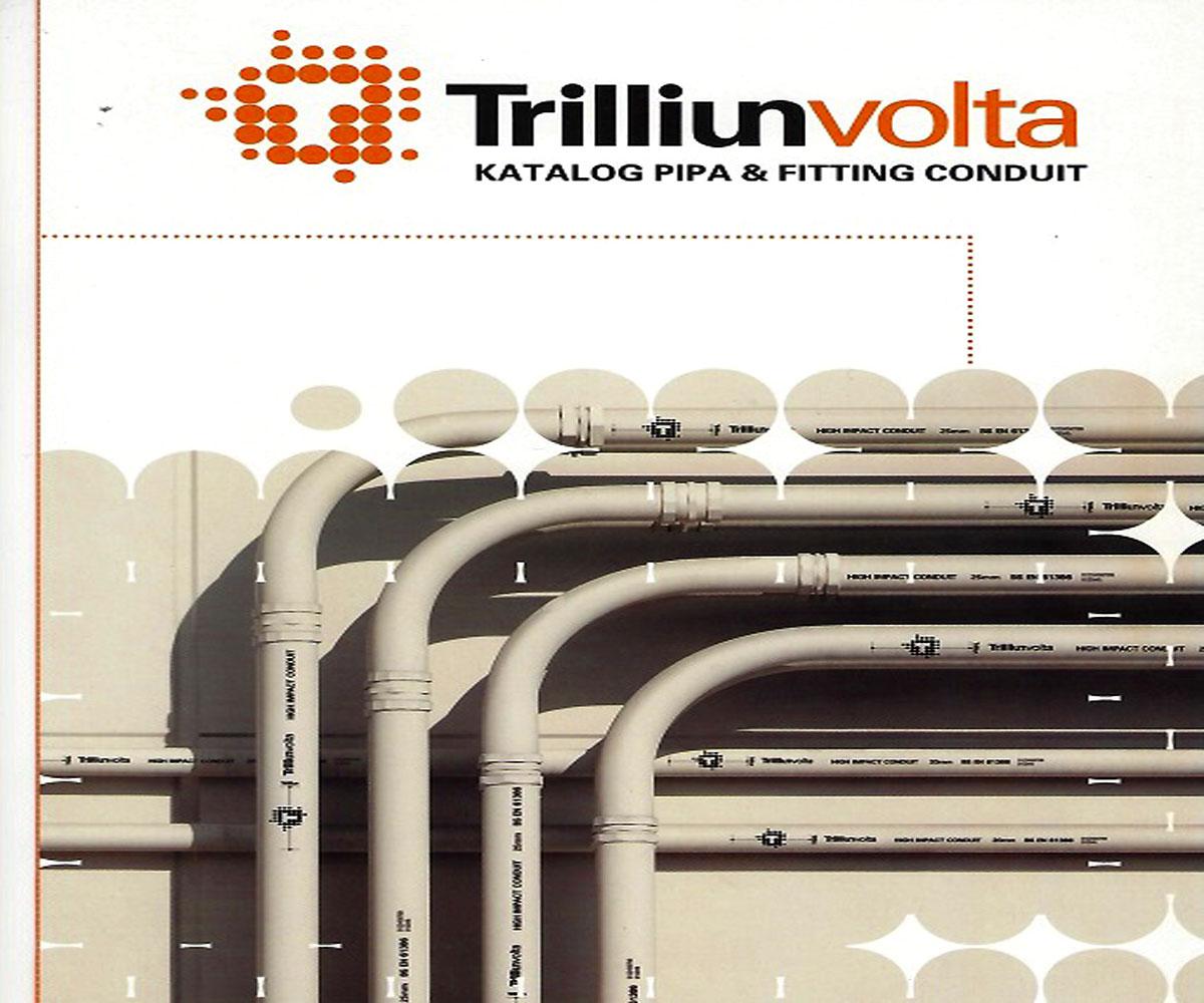 Pipa PVC Conduit - Trilliun volta